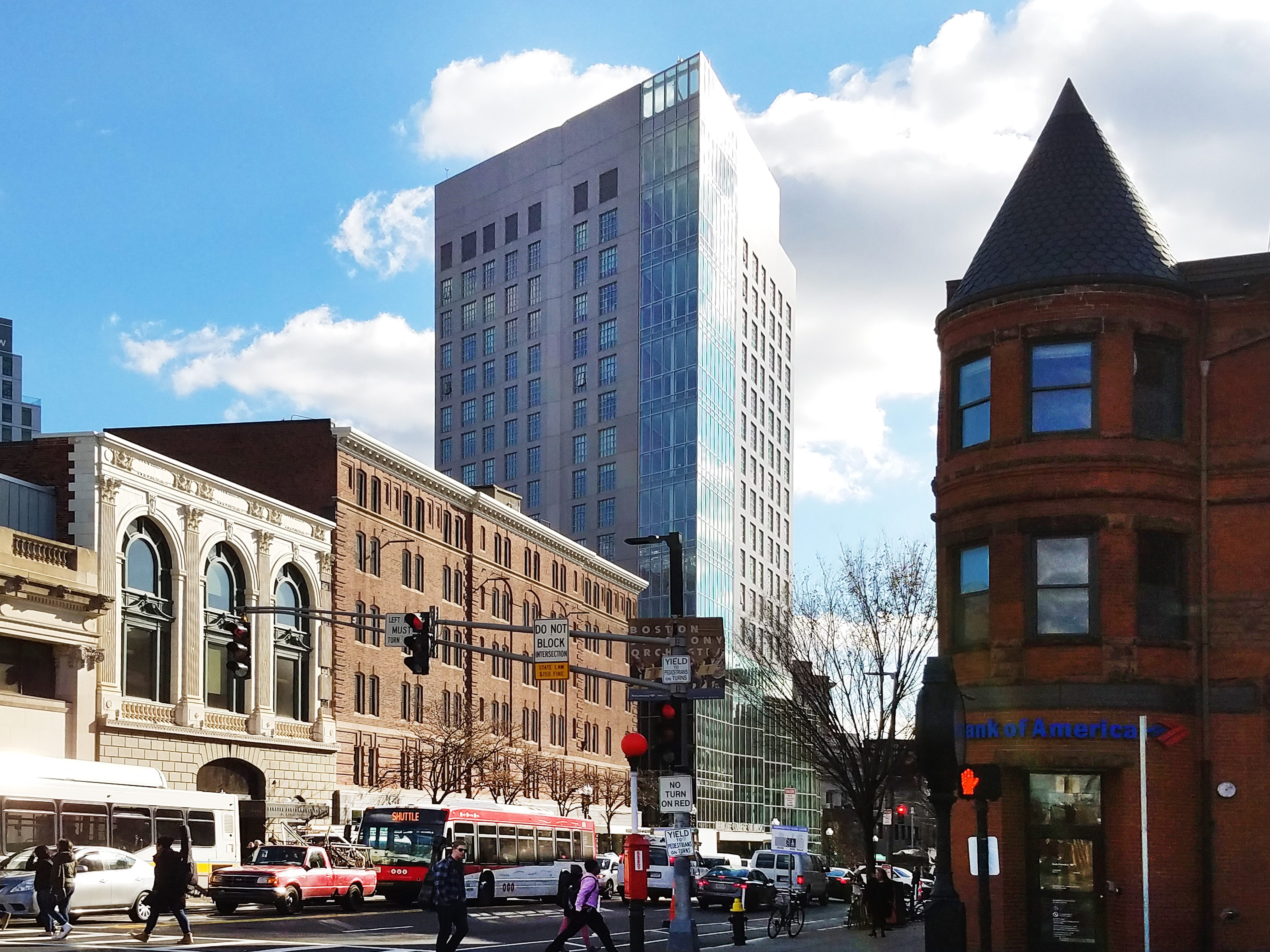 Berklee College / Mixed-Use Tower