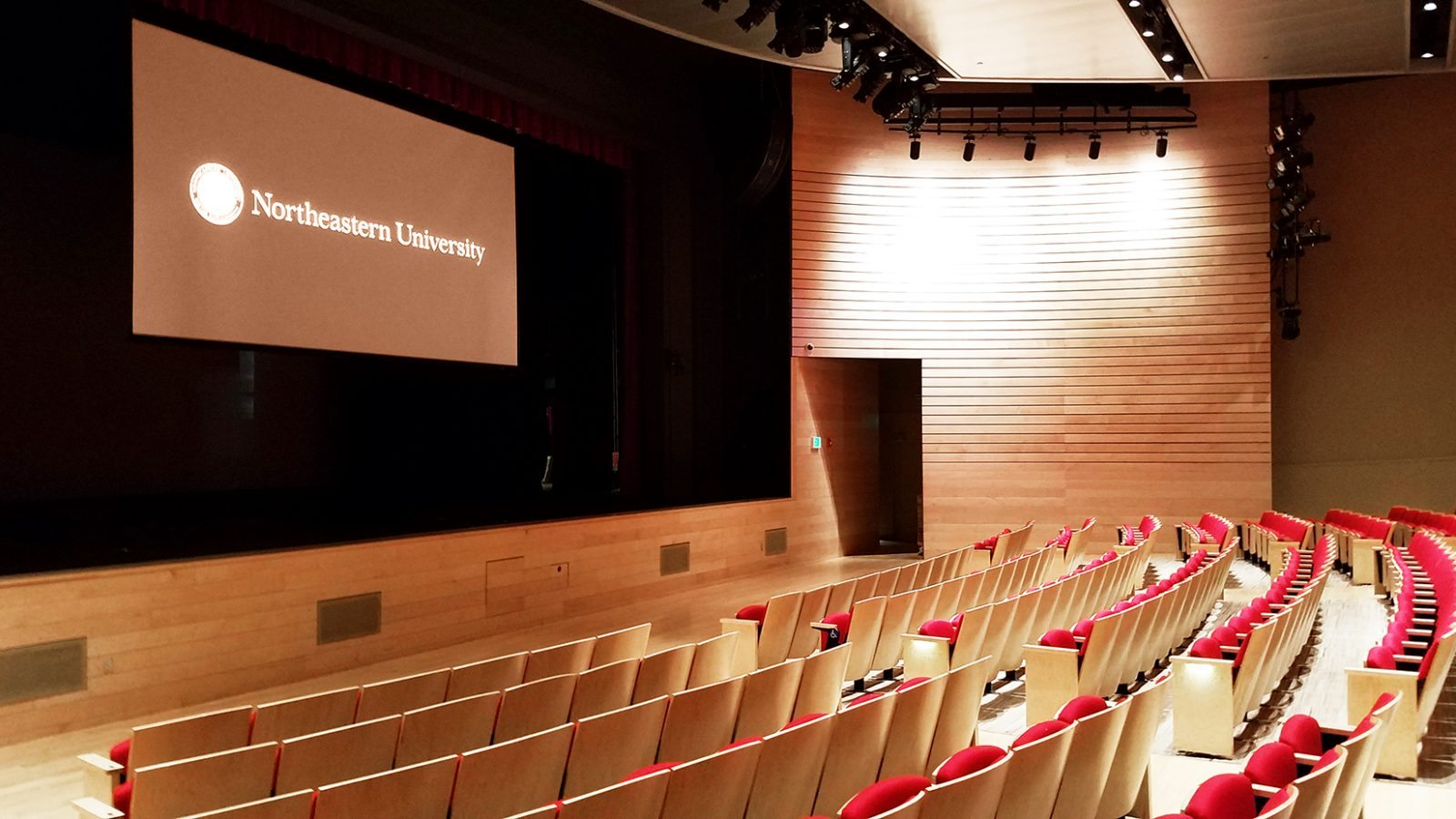 Northeastern University / Blackman Auditorium