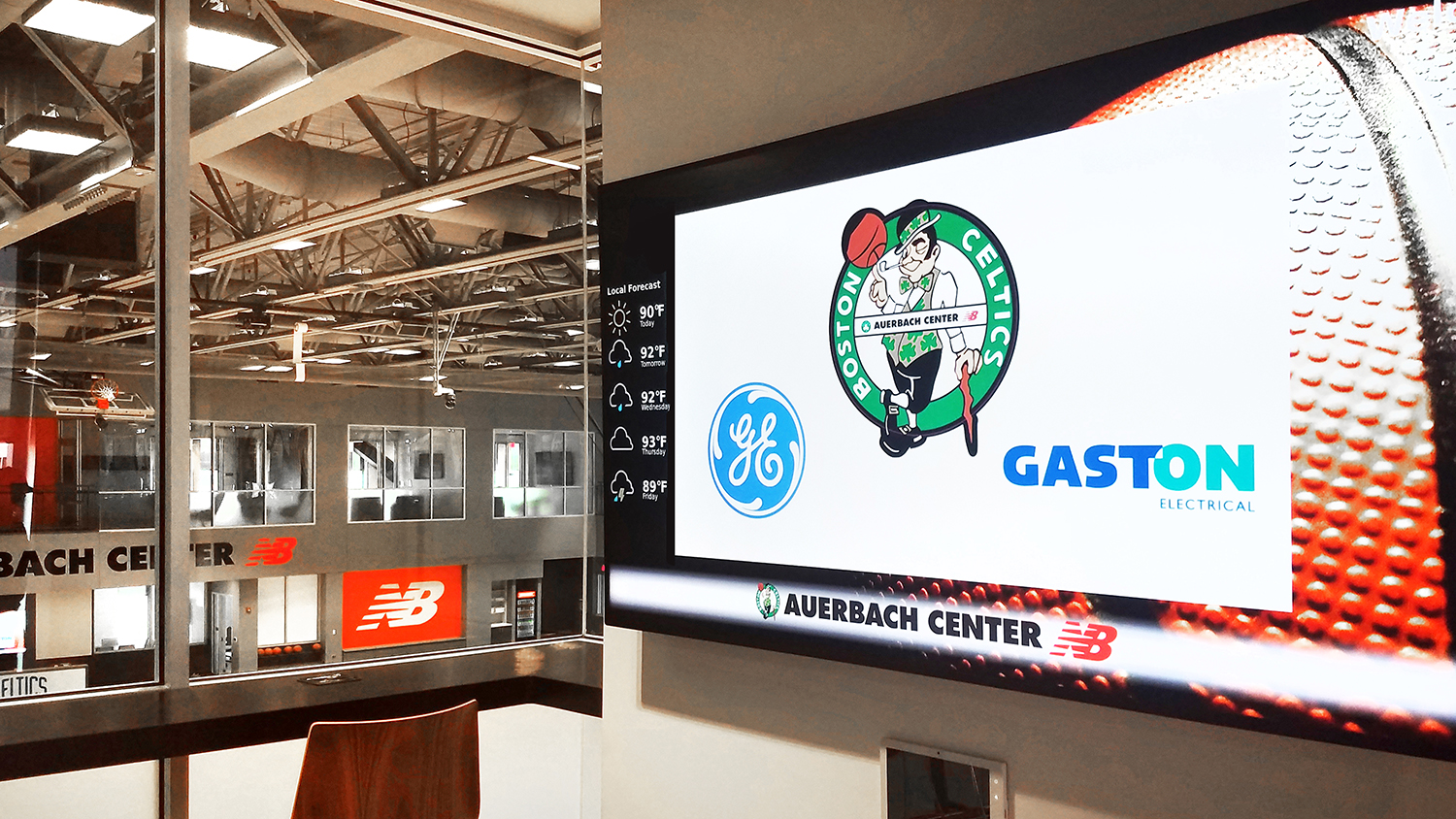 Boston Landing / Boston Celtics' Auerbach Center